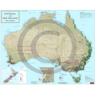 Wine Regions of Australia and New Zealand