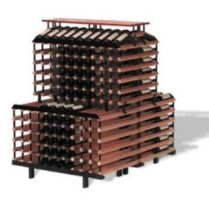 360 Bottle One Meter Back to Back Tiered Display Rack Kit
