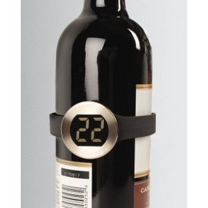 Wine Collar Thermometer with LCD Temperature Indicator