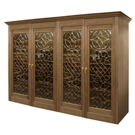 Macau 1450-Model Wine Cabinet with 4 Doors - 960 Bottles