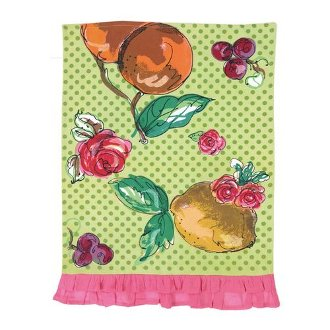 Julia Junkin Fruits & Flowers Kitchen Towel
