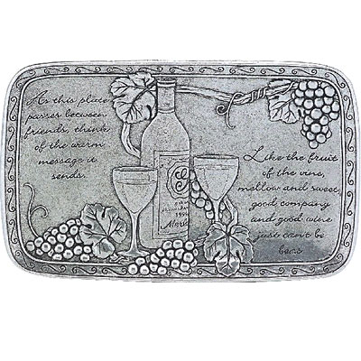 Statesmetal Wine Friendship Plate