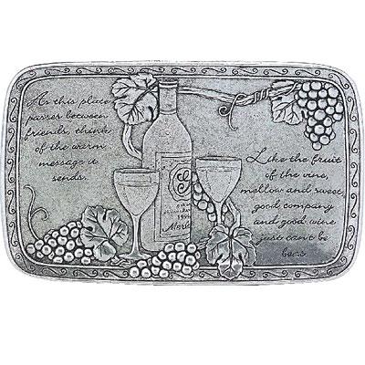 Statesmetal Wine Friendship Plate