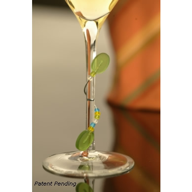Stemware Adornments Contemporary Style