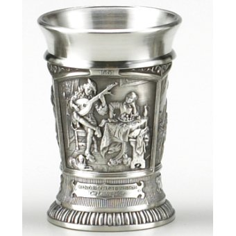 Old Masters Pewter Shot Glasses