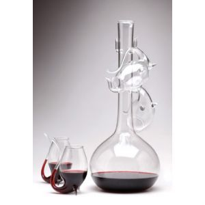 Port Sippers and Decanter Set
