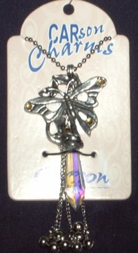 Wine Bottle Charm, Butterfly