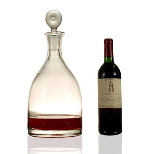 Monticello Double Magnum Decanter
