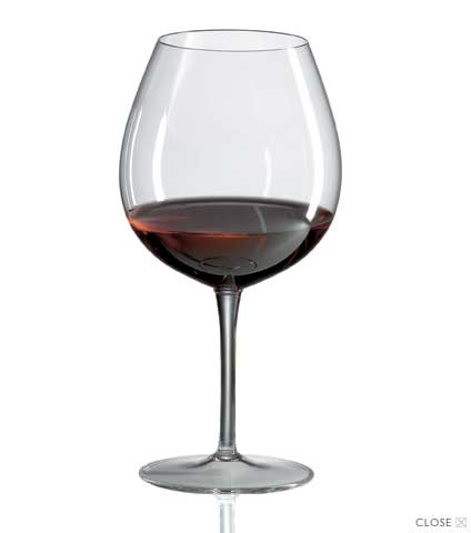 Burgundy Ravenscroft Crystal Stemware