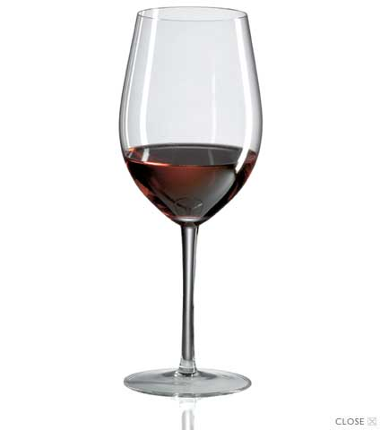 Bordeaux Grand Cru Wine Glasses (set of 4)