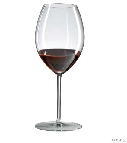 Hermitage Crystal Wine Glasses
