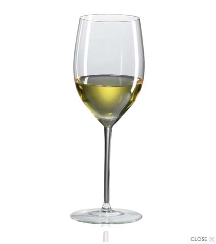Chardonnay Crystal Glasses