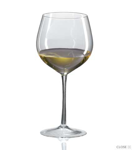 Grand Cru White Burgundy Crystal Wine Glasses