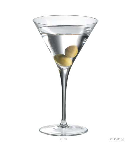 Ravenscroft Crystal Martini - Set of 4