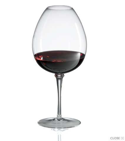 Amplifier Mature Red Wine Glasses