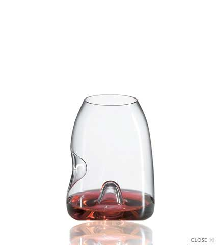 Amplifier Vintner's Crystal Stemless Tasting Glasses
