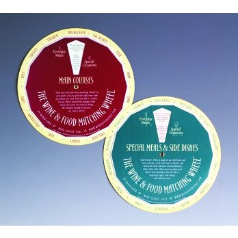 Wine and Food Matching Wheel by Robin Garr