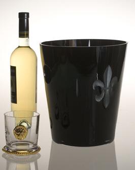 Jezebel Fleur de Lis Ice Bucket
