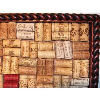 Cork Enthusiast Wine Cork Bulletin Board
