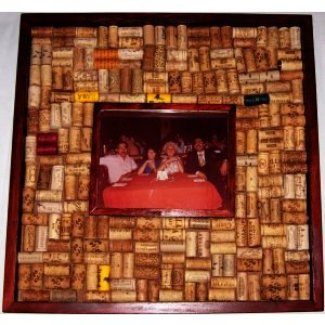 Picture Frame 8x10 Wine Cork Bulletin Board Kit
