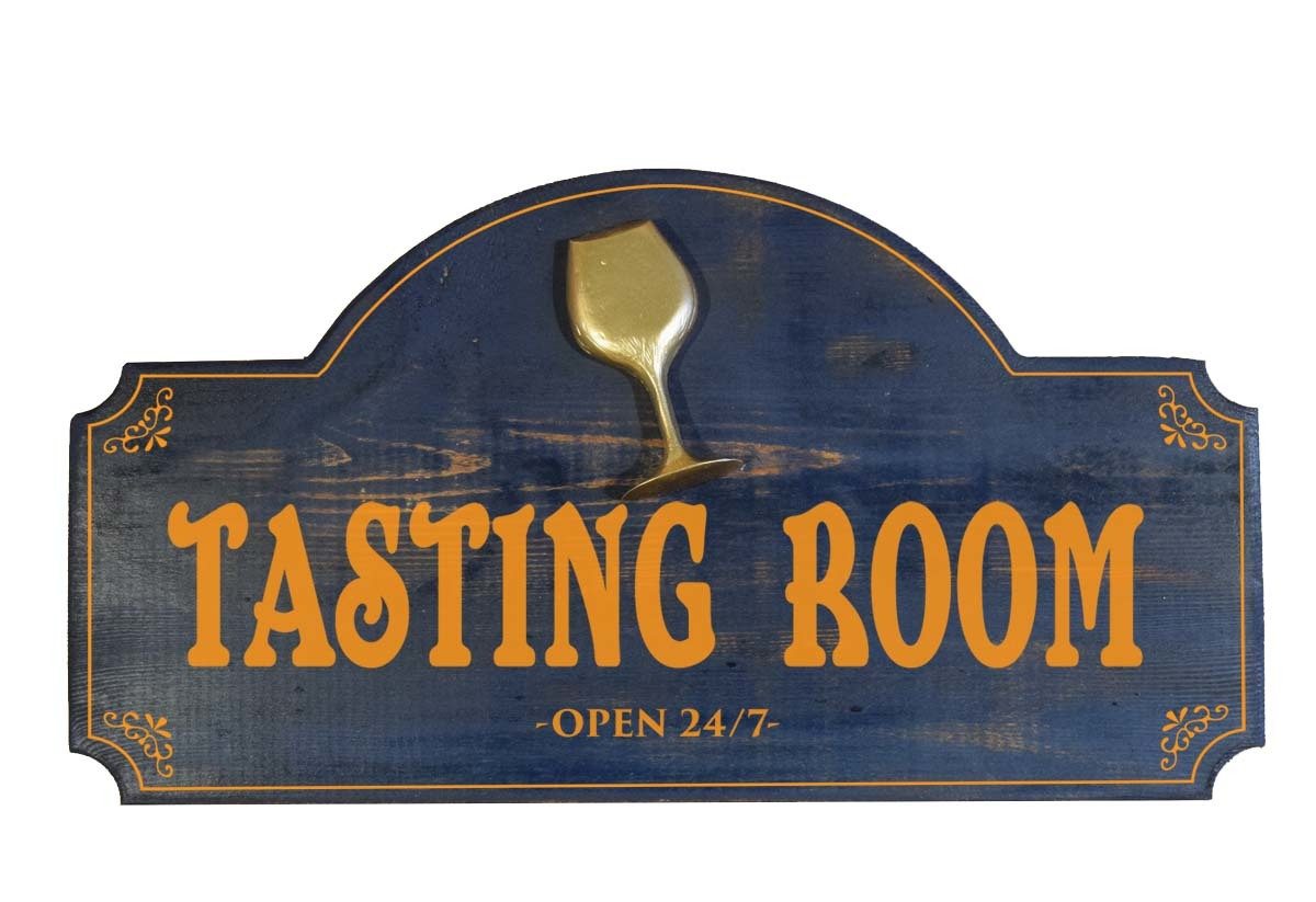Tasting Room Bar Sign