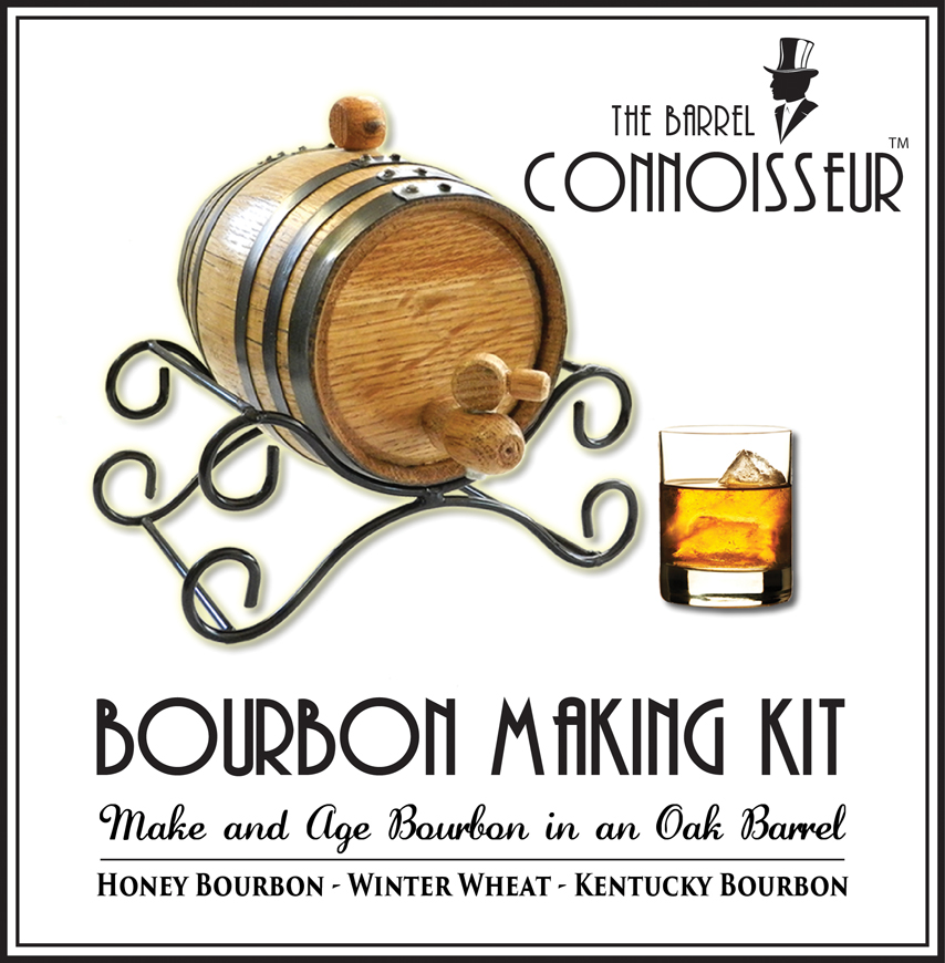 The Barrel Connoisseur Bourbon Barrel Making Kit