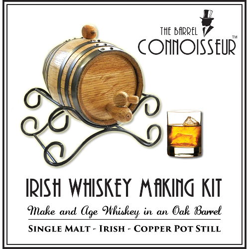 The Barrel Connoisseur Irish Whiskey Making Kit
