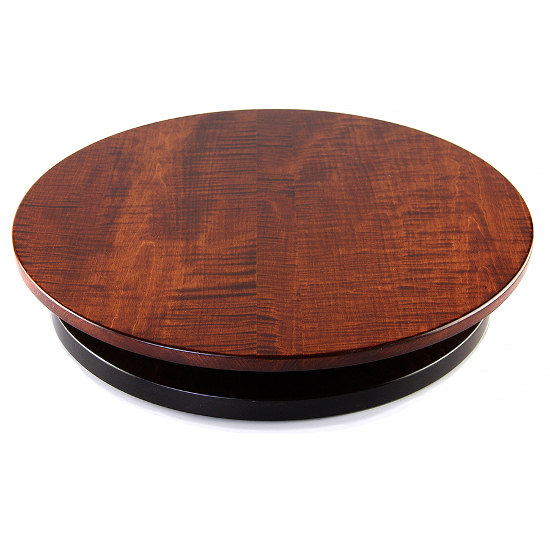 Artisan Tiger Wooden Maple Lazy Susan