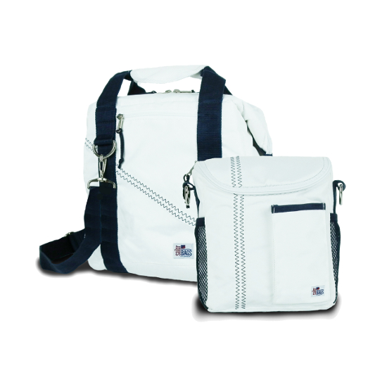 Totally Cool 12 Pack Beer and Lunch Bag Set
