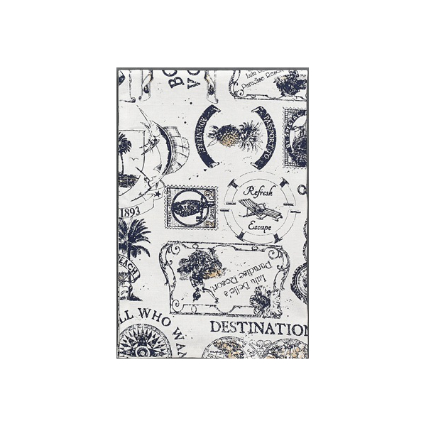 Travelogue Dishtowel