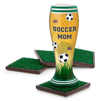 Turf Drink Coasters (set of 4)