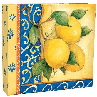 Tuscan Fruit Recipe Card Album