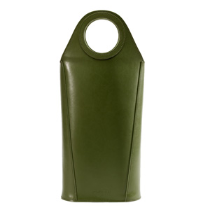 Tuscan 2 Bottle Wine Carrier, Artichoke