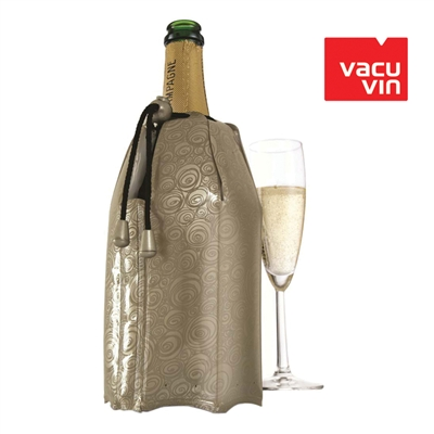 Vacu Vin Rapid Ice Platinum Champagne Active Cooler