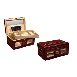 The Valencia Digital Cigar Humidor