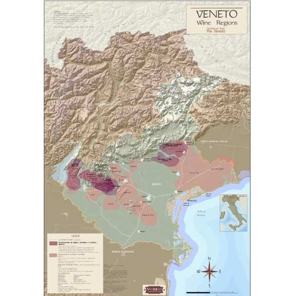 Vineto Wine Regions Map