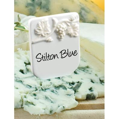 Vine Cheese Tiles with Pen (set of 4)