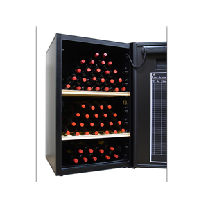 VinoCellier Solid Door 150 Bottle Wine Cabinet