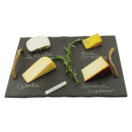 Rustic Farmhouse Vintage and Wine Slate Cheese Board