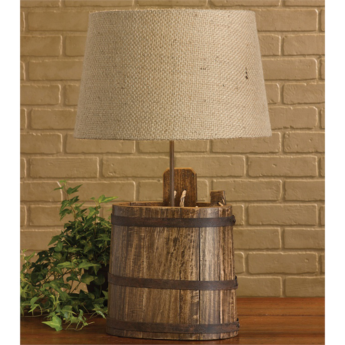 Water Bucket Lamp with Shade