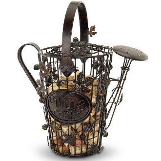 Watering Pail Cork Cage