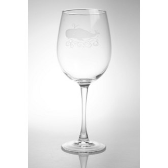 Whale All Purpose Large Wine Glasses (set of 4)