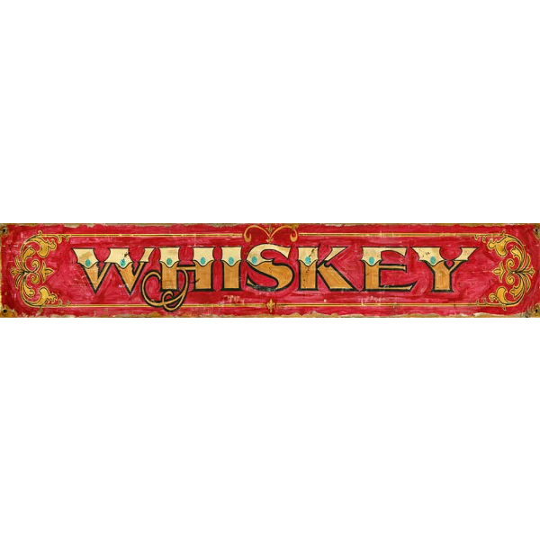 Personalized Whiskey Sign