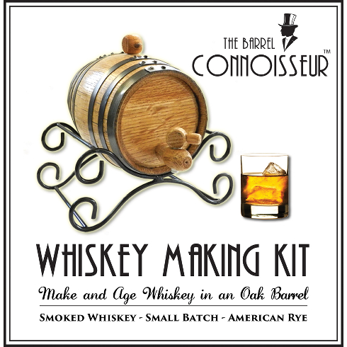 The Barrel Connoisseur Whiskey Making Kit