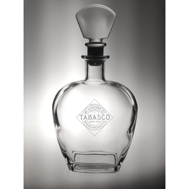 Corporate Logo Whiskey Decanters (set of 24)