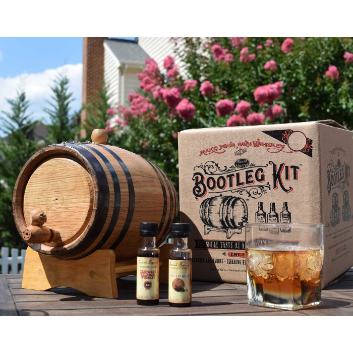 American Rye Whiskey Making Bootleg Kit