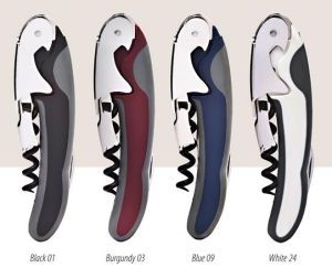 Bi-Color Two-Lever Waiter's Corkscrew