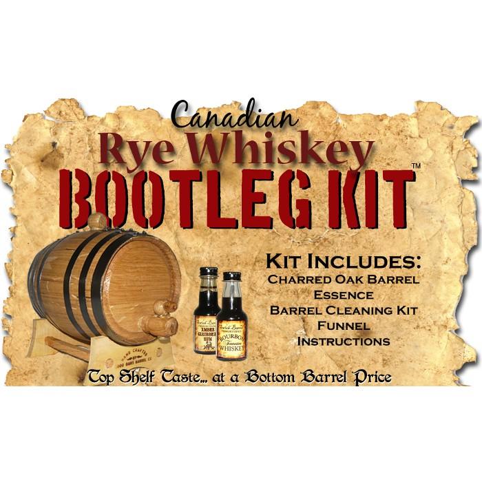 Canadian Rye Whiskey Making Bootleg Kit