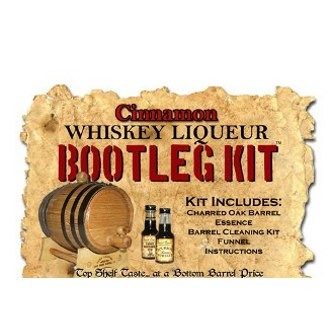 Cinnamon Whiskey Making Bootleg Kit