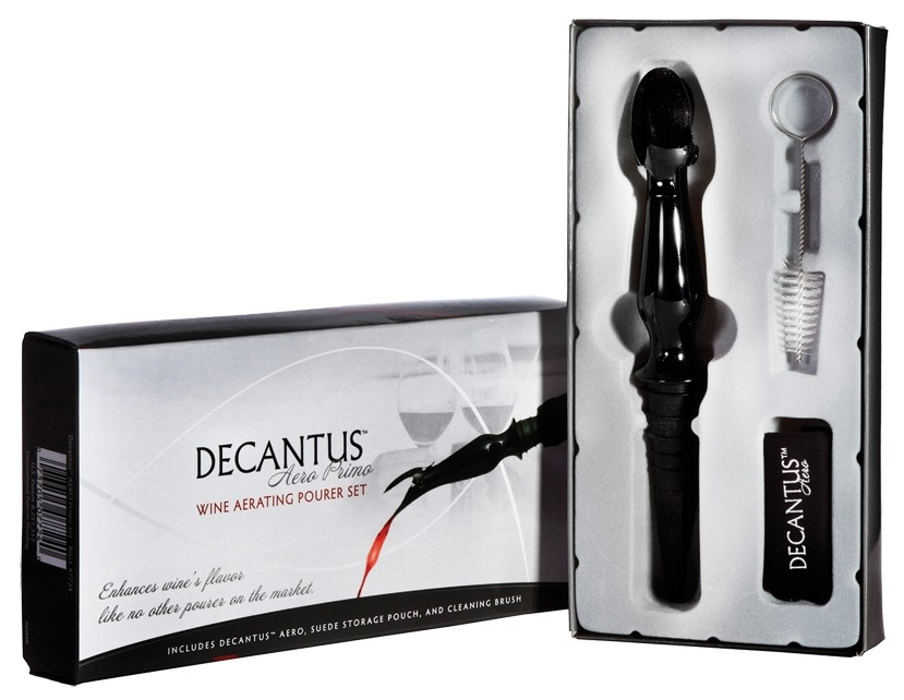 Decantus Aero Primo Aerator Set -  Black